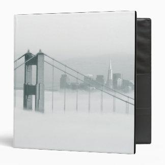 """La niebla rueda a través del San Francisco Bay 2 Carpeta 1 1/2"""""""