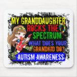 La nieta oscila el autismo del espectro alfombrillas de ratón