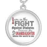 La nieta significa el mundo a mí diabetes joyeria personalizada