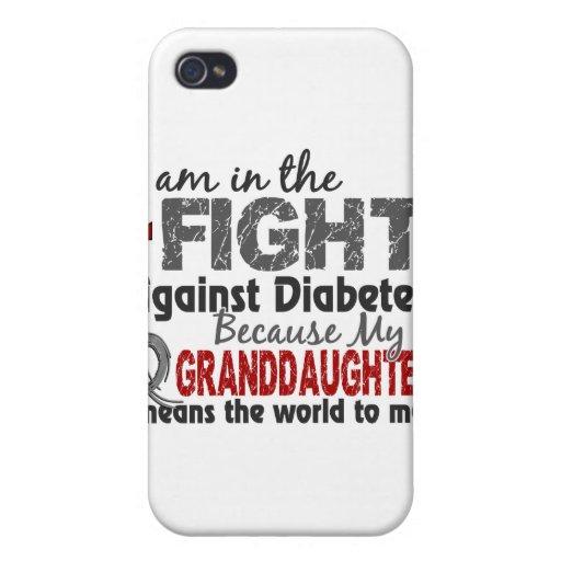 La nieta significa el mundo a mí diabetes iPhone 4/4S carcasa