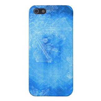 La nieve forma escamas mota del iPhone iPhone 5 Protectores