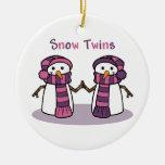 La nieve hermana a chicas ornaments para arbol de navidad