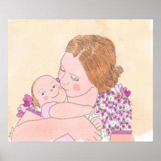 La niña de la mamá poster