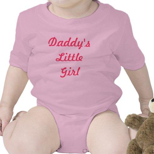 La niña del papá camiseta