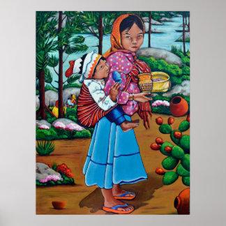La Niña Tarahumara Póster