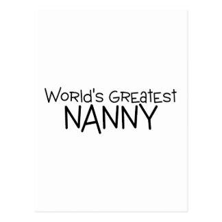 La niñera más grande de los mundos postales