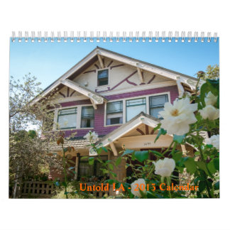 LA no dicho - calendario 2013