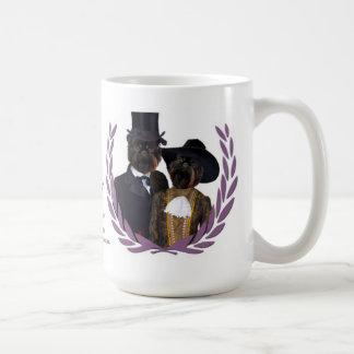 La nobleza de la taza de Griffon del belga persigu