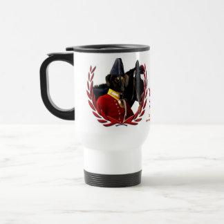 La nobleza de la taza de Sloughi persigue el regal