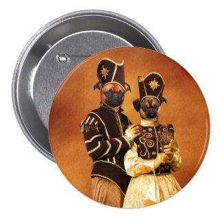 La nobleza del botón de Griffon del belga persigue Pin