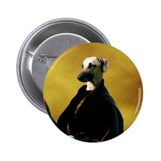 La nobleza del botón de Sloughi persigue el regalo Pin