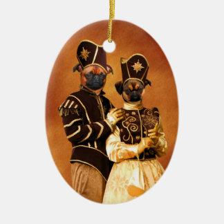 La nobleza del ornamento de Griffon del belga Ornamento Para Reyes Magos