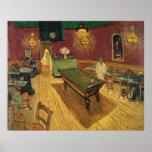 La noche Café (nuit) de Le Café de 1888 de Van Gog Impresiones