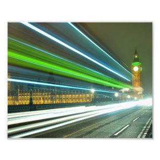 la noche de ben Londres del biig enciende la torre Arte Fotográfico
