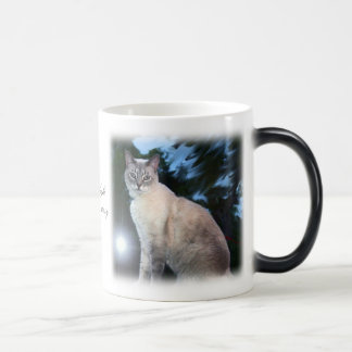 La noche del azul taza de café