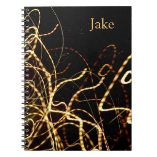 La noche enciende el cuaderno