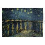 La noche estrellada, 1888 felicitacion