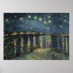 La noche estrellada, 1888 impresiones