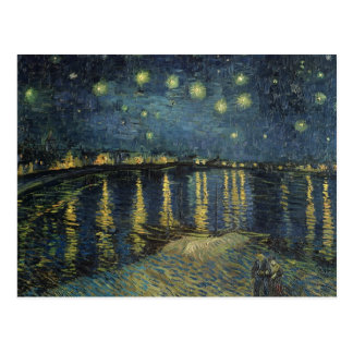 La noche estrellada 1888 tarjetas postales