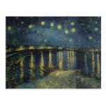 La noche estrellada, 1888 tarjetas postales