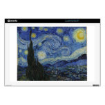 La noche estrellada, 1889 de Vincent van Gogh Portátil 43,2cm Skins
