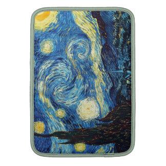 La noche estrellada (De sterrennacht) - Van Gogh Funda MacBook
