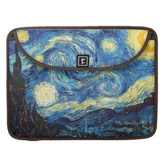 La noche estrellada (De sterrennacht) - Van Gogh Fundas Para Macbooks