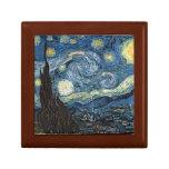 La noche estrellada de Van Gogh Cajas De Regalo