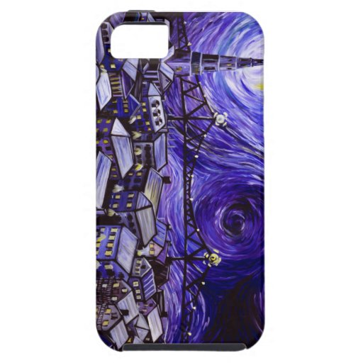 La noche estrellada de Van Gogh para Charleston, iPhone 5 Carcasa