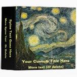 """La noche estrellada de Vincent van Gogh (1889) Carpeta 2"""""""