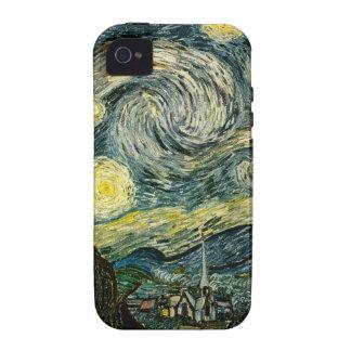La noche estrellada de Vincent van Gogh (1889) Vibe iPhone 4 Funda