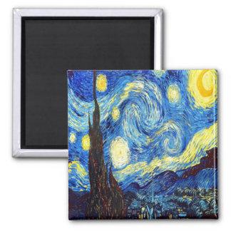 La noche estrellada de Vincent van Gogh 1889 Imanes Para Frigoríficos