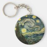 La noche estrellada de Vincent van Gogh (1889) Llavero