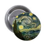 La noche estrellada de Vincent van Gogh (1889) Pins