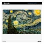 La noche estrellada de Vincent van Gogh (1889) Skins Para MacBook