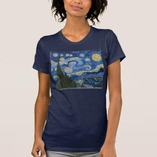 La noche estrellada de Vincent van Gogh Camiseta