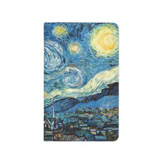 La noche estrellada de Vincent van Gogh Cuaderno Grapado