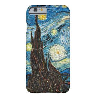 La noche estrellada de Vincent van Gogh Funda De iPhone 6 Barely There