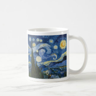 La noche estrellada de Vincent van Gogh Taza Clásica
