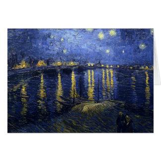 La noche estrellada felicitación
