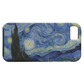 La noche estrellada funda para iPhone 5 tough