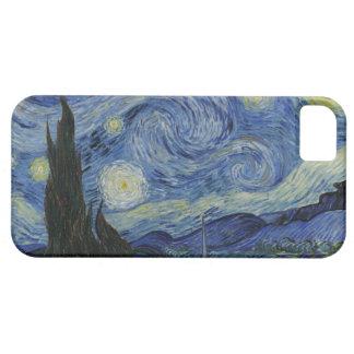 La noche estrellada iPhone 5 carcasa