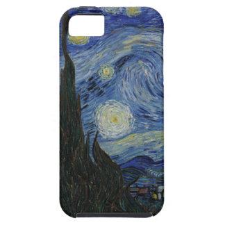 La noche estrellada iPhone 5 carcasas