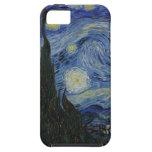 La noche estrellada iPhone 5 Case-Mate cárcasa