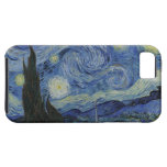 La noche estrellada iPhone 5 Case-Mate protectores