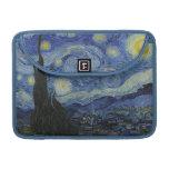 La noche estrellada - Van Gogh (1888) Funda Para Macbooks