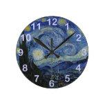 La noche estrellada - Van Gogh (1888) Relojes