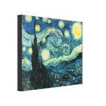 La noche estrellada Van Gogh envolvió la impresión Impresion En Lona