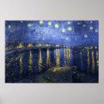 La noche estrellada (Van Gogh) Posters