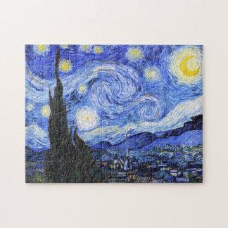 La noche estrellada Van Gogh Puzzle
